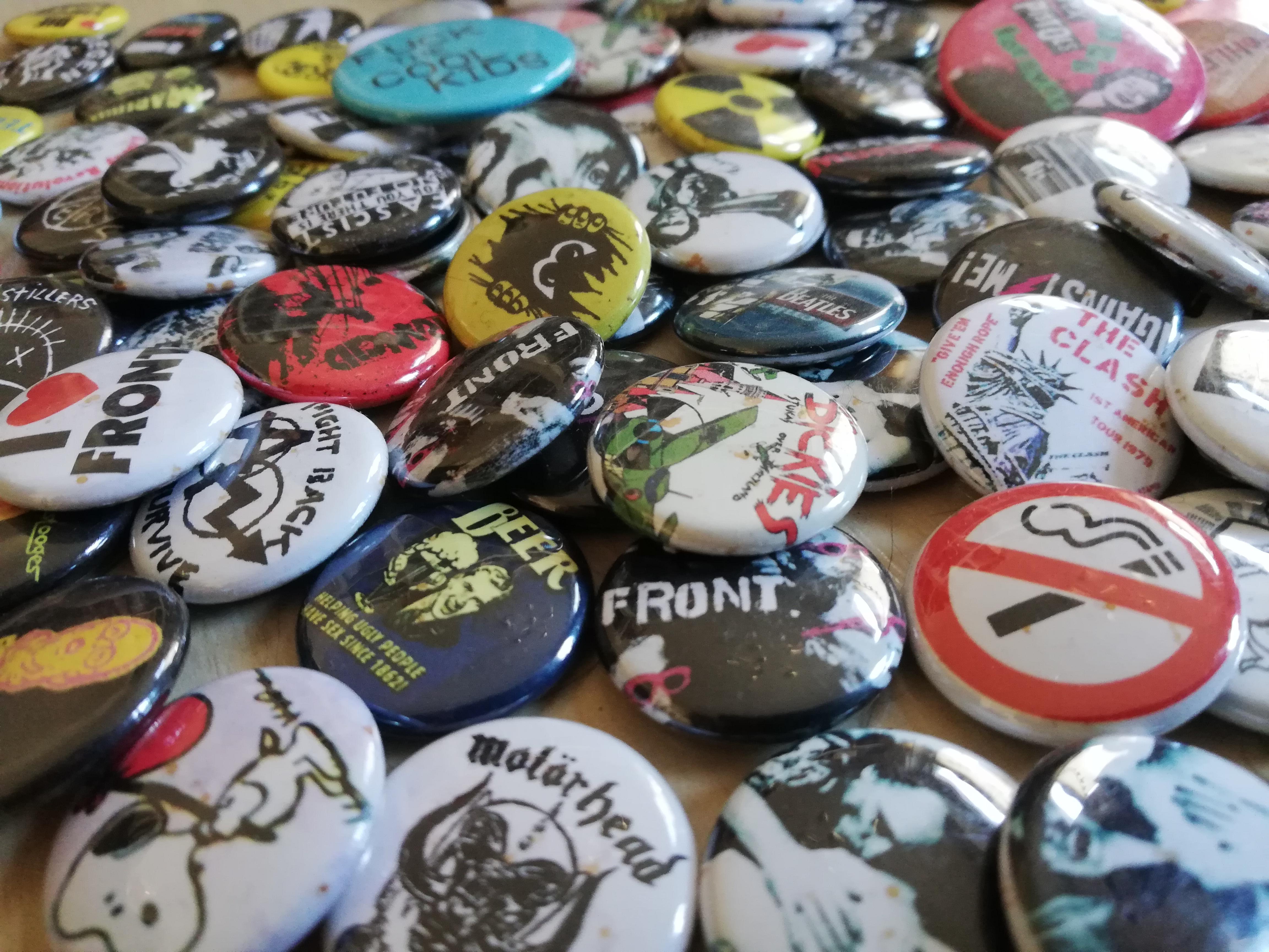 Buttons herstellen